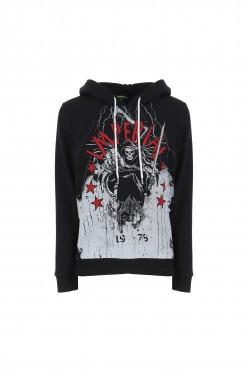 m ls t-shirt nero