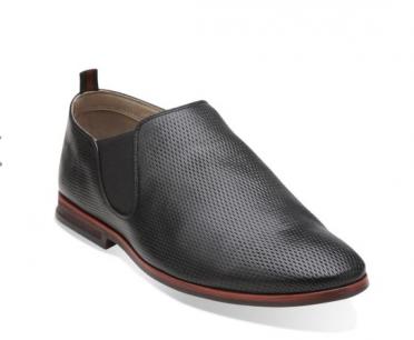 frewick edge black leather