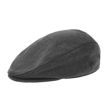 casquette drap de laine grey