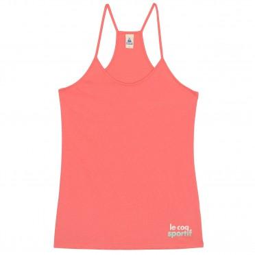 apres-sport logo spicata tank w coral
