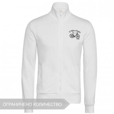 tdf fanwear n°1 fz sweat m white