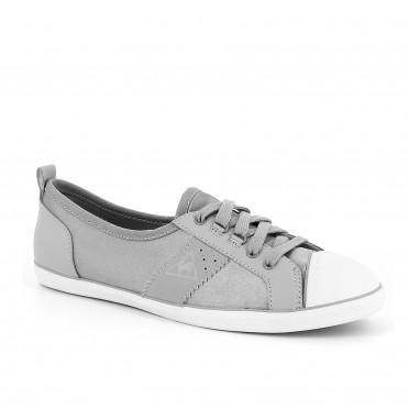 lorette satin grey