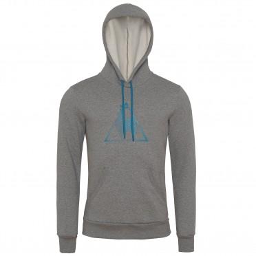 chronic po hood m medium heather grey
