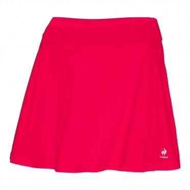 tennis match alight skirt w lipstick red