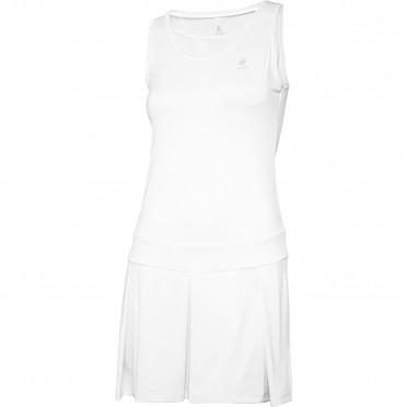 tennis match alive dress w optical white