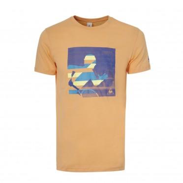 graphic 1 tennis vitesse tee ss m mock orange