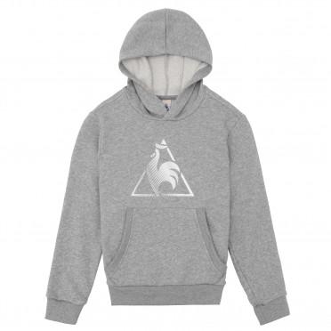 chronic po hood inf light heather grey