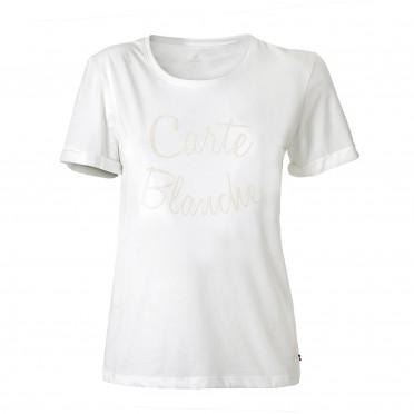 core mabeli tee ss w white