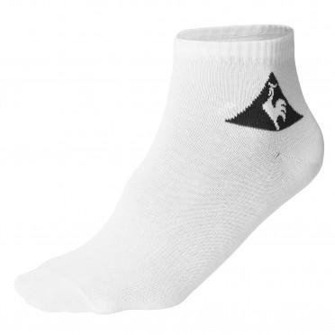classique 3 quarter socks white