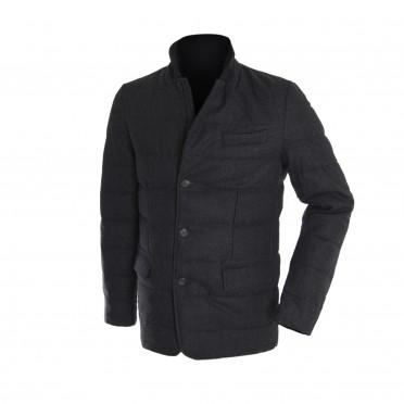 m-giacca grigio scuro
