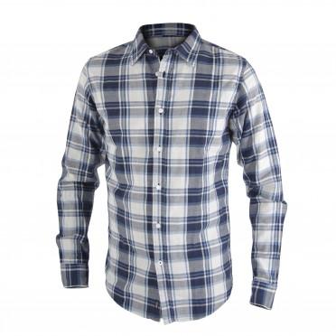 m-camicia blue