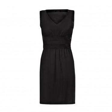 w-v neck shift dress