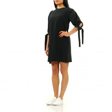 w dress 3/4 sleeve black