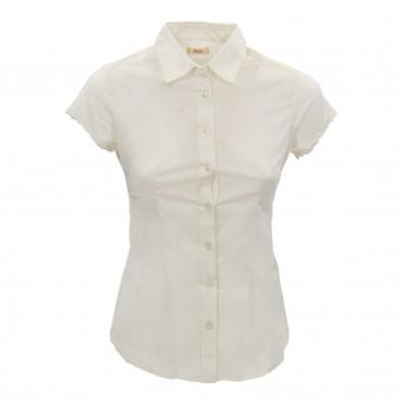 w-camicia mc bianco ottico