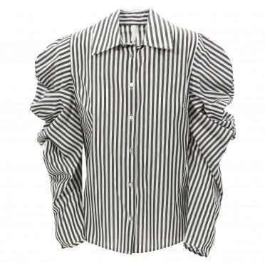 w ls shirt stripe black