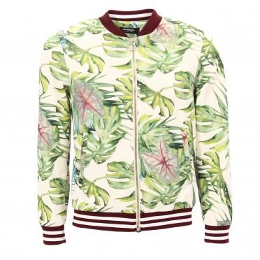 m jacket palm green