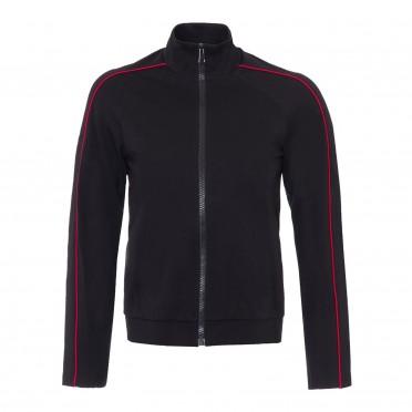 w sweatshirt  black red