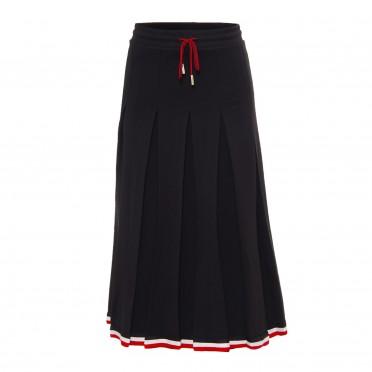 w skirt black red