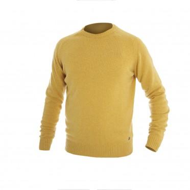 m-maglia g/collo ml giallo