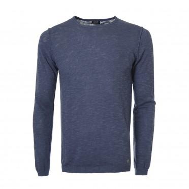 m-crew neck l/sleeve knit