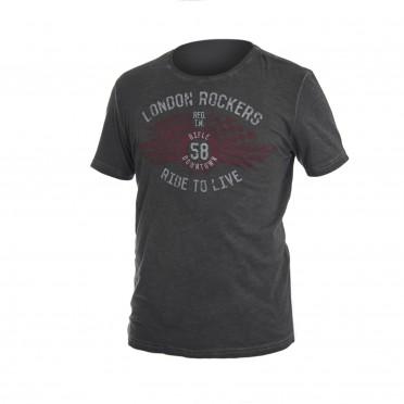 m-t-shirt g/collo mc grigio scuro
