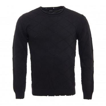 m sweater nero