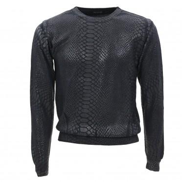 m-sweater black snake