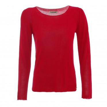 w sweater red
