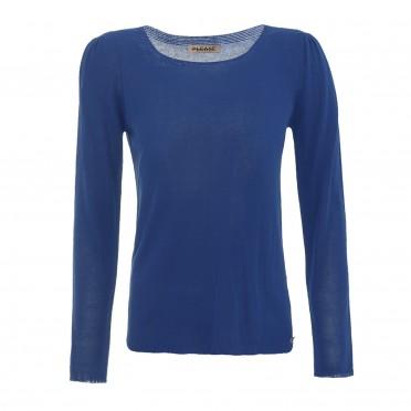 w sweater light blue
