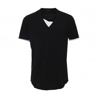 m-t-shirt ss v-neck