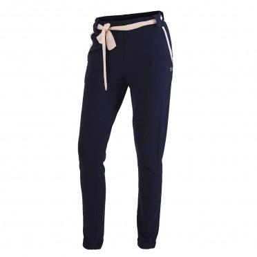 w-pantalone felpa blu