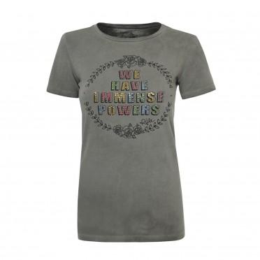 w- t-shirt g/collo mc
