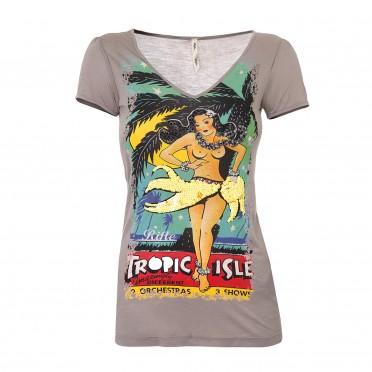 w-t-shirt v/collo