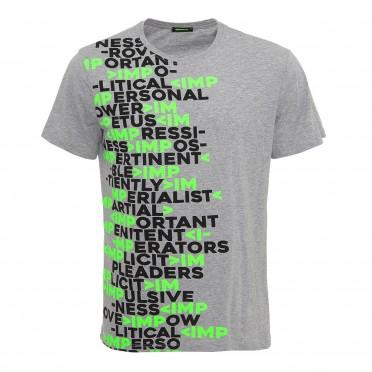 m t-shirt grigio chiaro