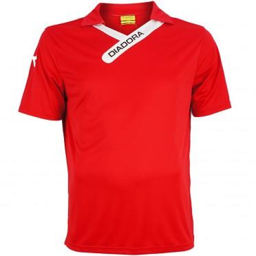 san francisco shirt ss jr red