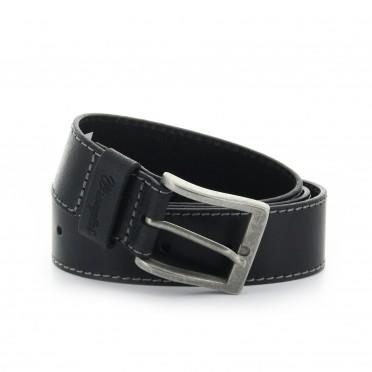 basic stitched belt