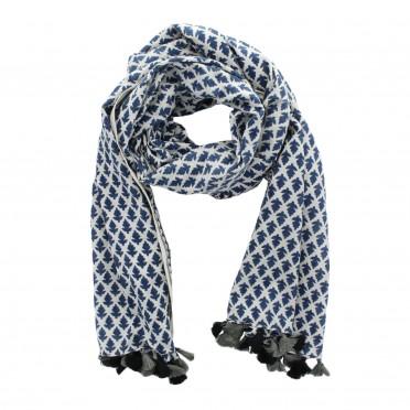 w-sciarpa blue