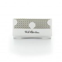 w wallet white
