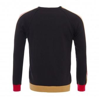 m ls t-shirt stripe with edging