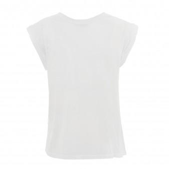 w t-shirt white