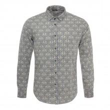 m shirt long sleeve grey