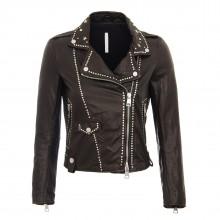 m jacket black stars