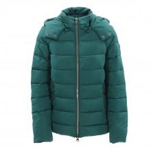 w-hooded padded  jacket