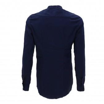 ls shirt blue