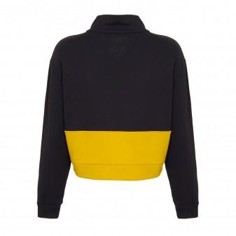 w felpa black yellow
