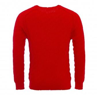 m sweater rosso
